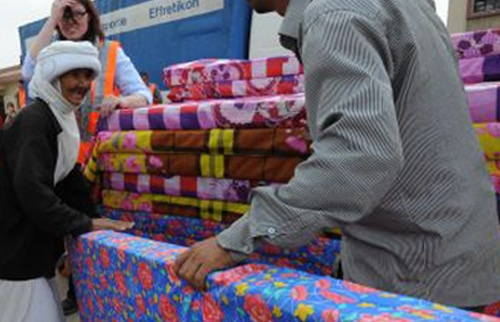 Mattresses For Displaced Families
