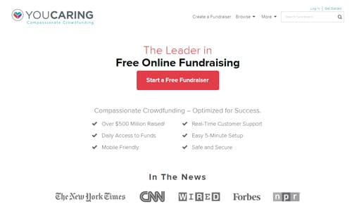 YOUCARING - Fund-raising Organizations